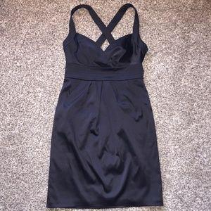 Max & Cleo Black Prom Sheath Dress w/Pockets Sz 6